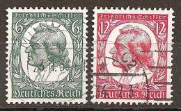 DR 1934 // Michel 554/555 O (4185) - Deutschland