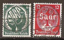 Michel 544/545 O - Deutschland