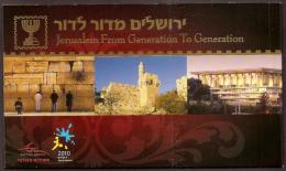 ISRAEL - 2010 Jerusalem Pope Paul Complete Booklet. As New - Booklets