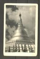 BURMA 1959, INTERESANTE TARJETA POSTAL CIRCULADA ENTRE RANGOON Y BERLÍN, CÚPULA DE UN TEMPLO RELIGIOSO. - Myanmar (Burma 1948-...)