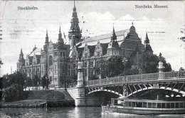 STOCKHOLM Nordiska Museet, Gel.1910 - Schweden