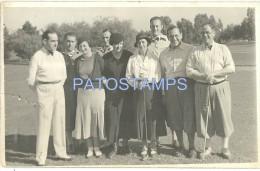 3122 ARGENTINA RANELAGH BS AS 1º CONCURSO DE GOLF YEAR 1934 CUT  POSTAL POSTCARD - Argentinien