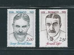 Monaco Timbres De 1981 N°1291 Et 1292 Neufs ** - Monaco