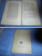 NOTES SUR UN REGISTRE DU TABELLIONAGE  D'ARGENCES-TROARN-VARAVILLE  De La Fin Du XIVe Siècle / Calvados, Normandie... - Livres, BD, Revues