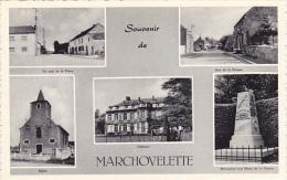 Souvenir De Marchovelette Carte Festonné,multivues N´a Pas Circulé - Fernelmont