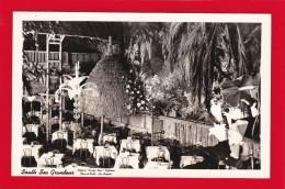CA126 Clifton's Pacific Seas Cafeteria, Los Angeles, California, CA, Vintage Real Photo Postcard, Circa 1939-50.