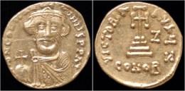 Constans II AV Solidus- Rare Officiana Z - Byzantine