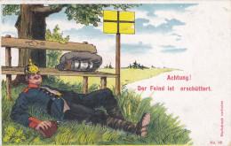 1908 D. Reich MILITARIA, SELTENERE Ansichtskarte, gelaufen. MK