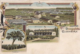 1900 D. Reich MILITARIA, SELTENERE Ansichtskarte: Truppen�bungsplatz Elsenborn. MK