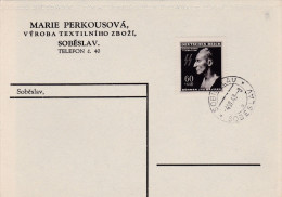 1943 D. Reich +M. BESSERE EF. Sobeslav. MK - Lettere
