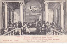 Italy 1903 Postcard  Vicenza Mount Berico Sanctuary Used - 1900-44 Vittorio Emanuele III