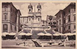 Italy Unused Postcard Roma Chiesa Della Trinita Dei Monti - Marcofilía