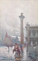 Italy Unused Postcard Venezia Colonne Di San Marc - 1900-44 Victor Emmanuel III.