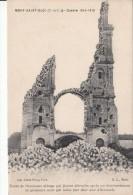 Cp , MILITARIA , Guerre De 1914-1915 , MONT-SAINT-ÉLOI , Tours De L'ancienne Abbaye Détruites Après Un Bombardement - War 1914-18