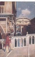 Italy Unused Postcard Venezia Ponte Dei Sospiri - 1900-44 Victor Emmanuel III.
