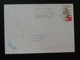 20 Corse Figari Aéroport Airport - Flamme Sur Lettre Postmark On Cover - Vliegtuigen