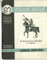 Revue D'Enseignement Scolaire  De La  Guerre 1939-1945  Documentation En Couleurs  Format A4 - 5. Guerres Mondiales