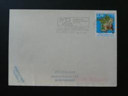 26 Drome St Nazaire En Royans Bateau à Roue Grotte Pont Bridge - Flamme Sur Lettre Postmark On Cover - Boten