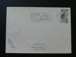 26 Drome Valence Louis Pasteur 1990 - Flamme Sur Lettre Postmark On Cover - Louis Pasteur