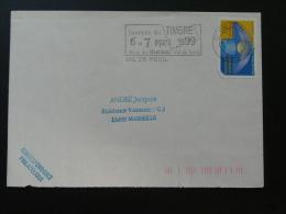 27 Eure Val De Reuil Journée Du Timbre 1999 - Flamme Sur Lettre Postmark On Cover - Stamp's Day