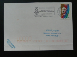 27 Eure Et Loir Chateaudun Bicentenaire Légion D'Honneur 2002 - Flamme Sur Lettre Postmark On Cover - Napoléon