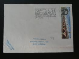 27 Eure Et Loir La Loupe 2004 - Flamme Sur Lettre Postmark On Cover - Marcophilie (Lettres)