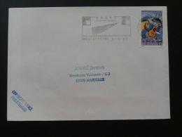 29 Finistere Brest St Pierre Grands Chantiers 1993 - Flamme Sur Lettre Postmark On Cover - Marcophilie (Lettres)