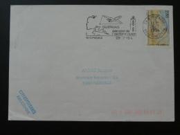29 Finistere Guipavas Aeroport Avion Aircraft 1994 - Flamme Sur Lettre Postmark On Cover - Vliegtuigen