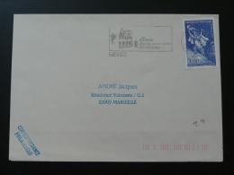29 Finistere Nevez - Flamme Sur Lettre Postmark On Cover - Marcofilia (sobres)