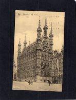 51692   Belgio,   Louvain,  Hotel  De Ville,  VGSB  1931 - Leuven