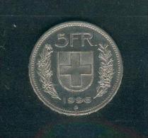 SUISSE ; 5 Francs ; 1996 ; Très Bon état - Svizzera