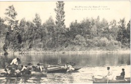 9023/15- St-Pierre-de-Boeuf (Loire) - Une Belle Passe De Joutes Sur La Loire - Other Municipalities