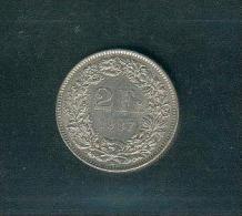 SUISSE ; 2 Francs ; 1987B ; Très Bon état - Svizzera