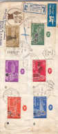 Fotos - Cinéma - Bateaux - Avions - Potterie - Israël - Lettre Recommandée De 1955 - Oblitération Jérusalem - - Israel
