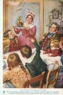 Character Sketches From Charles Dickens, Bob Cratchit's Christmas Dinner, 00-10s TUCK - Künstlerkarten