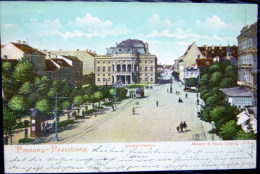 SLOVAQUIE POZSONY PRESSBURG SZINHAZ THEATER - Slovaquie