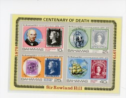 Bahamas 1996-Timbre sur timbre,R Hill,bateau,YT 899/02***MNH