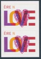 IRELAND/Irland/Eire 2015 Weddings Adhesive Pair** - 1949-... Repubblica D'Irlanda