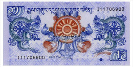 BHUTAN 1 NGULTRUM 2006 Pick 27 Unc - Bhutan