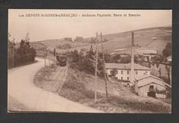 CPA 914 Les  Dépots St Didier / Beaujeu Ancienne Papeterie Route De Beaujeu - Ohne Zuordnung