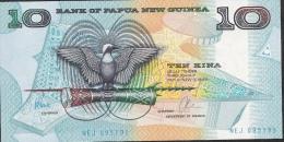 PAPUA NEW GUINEA   P9d   10 KINA   1985  SIGNATURE 6    UNC. - Papouasie-Nouvelle-Guinée