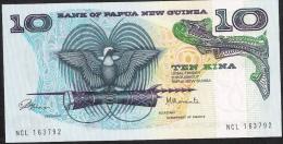 PAPUA NEW GUINEA   P7  10 KINA   1980  SIGNATURE 1    UNC. - Papua New Guinea