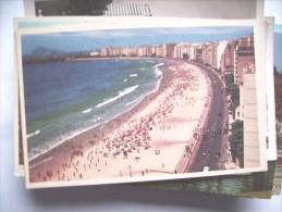Brazilië Brasil Rio De Janeiro With Beach - Rio De Janeiro
