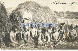 3154 ARGENTINA TUCUMAN LEDESMA COSTUMES NATIVE INDIOS YEAR 1920 POSTAL POSTCARD - Argentinien