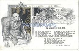 3155 ARGENTINA BUENOS AIRES PUBLICITY COMMERCIAL RESTAURANT ZUM FURSTEN BISMARCK GERMANY POSTAL POSTCARD - Argentinien