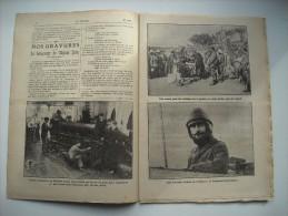 LE PELERIN 1825 De 1911.AVIATEUR,LIEUTENANT LANTHEAUME. LOCO POUR ROI DE SIAM. TROIS MARINS BRETONS DU VAPEUR DEHLI... - 1900 - 1949
