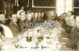 3156 ARGENTINA CORDOBA RIO IV RIO CUARTO REUNION MILITAR MILITARY YEAR 1931 POSTCARD - Argentinien