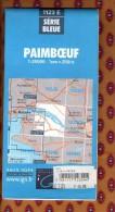 1 Carte Ign - Serie Bleue Paimboeuf - Karten/Atlanten