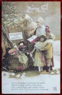 Document Sur WW1 - CPM Fac-similé De Carte CPA - Patriotique Heureux Noël - Père Noël Messager Des Armées - Guerre 1914-18