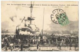 Explosion  Du Cuirassé  IENA     Toulon  200  Victimes  1907 - Krieg